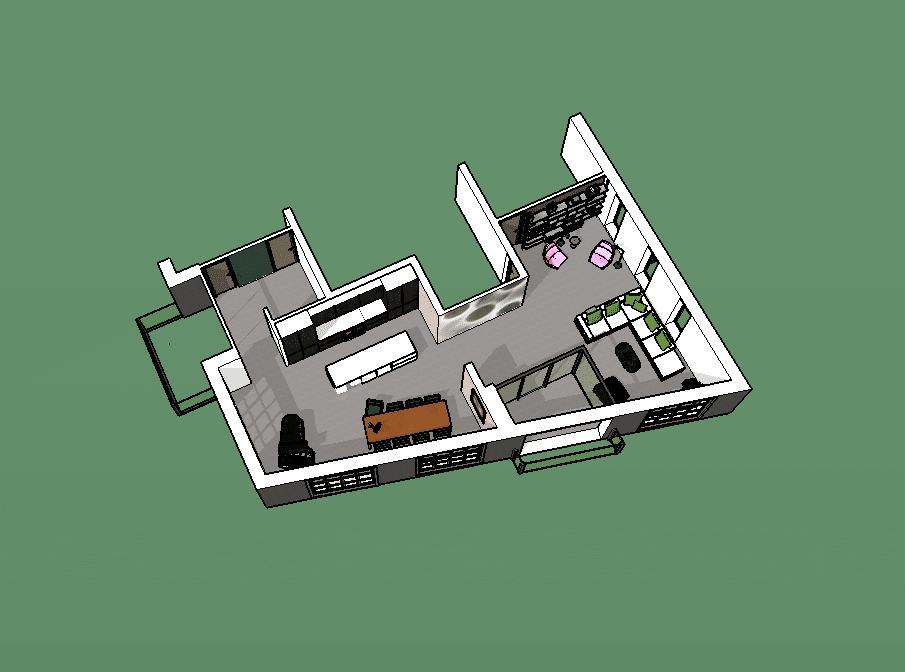 Interieurtekening