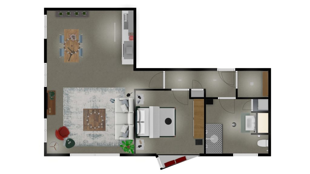 Appartement indeling interieur